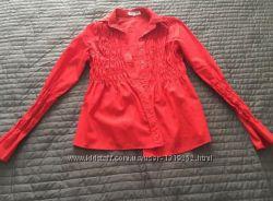 Нарядная беременная рубашка