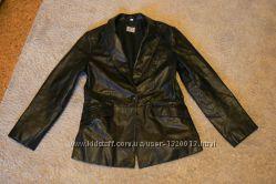 Куртка женская демисезонная - кожаная Оригинал