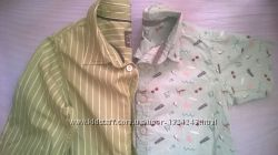 рубашки TU H&M 2шт