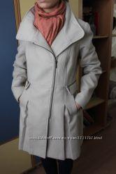 Женское демисезонное драповое пальто Mohito S