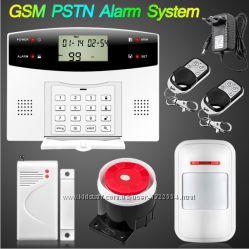 Универсальная Беспроводная GSM и PTSN сигнализация G2 433мГц для всех и вс