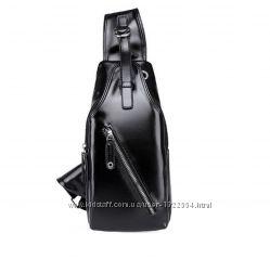 Мужской рюкзак на одно плечо. Размер 33-16-6см.