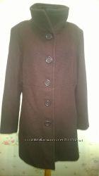 пальто коричневого цвета Swing