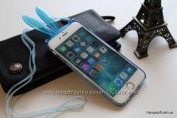 Силиконовый чехол Ушки для Apple iPhone