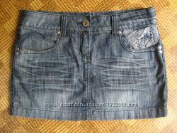 джинсовая юбка Clockhouse - размер М