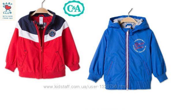 Куртка ветровка для мальчика C&A Baby Club 92