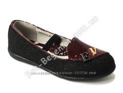 Туфли для девочки Королева Красоты - B&G размеры 28-33 арт. KK216-514