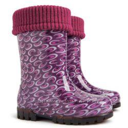 Резиновые сапоги для девочки Demar Twister Lux Print O размер 20-21