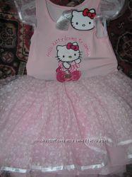 Плаття фатінове платье фатиновое Hello kitty  обруч Вушка