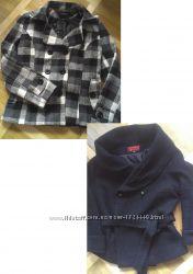 Шерстяні пальта короткі 12 розмір фірми Yaxinfashion XL та Zihaitahg XL