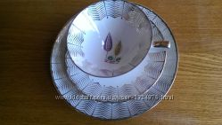 Фарфоровый чайный комплект Германия