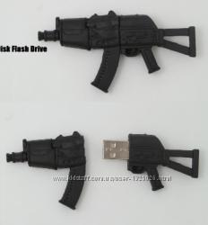 Силиконовая флешка USB 8 Gb пистолет