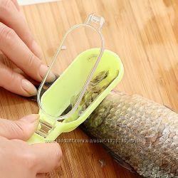 Скребок для очистки рыбы от чешуи