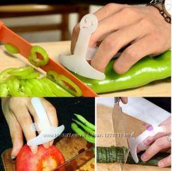 Защитная насадка для пальцев при нарезке.