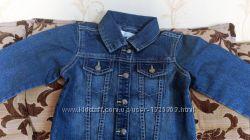 Детская джинсовая куртка на 4, 5 лет