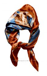 Новый женский платок фирмы ystrdy. Новый размер 80см на 75см