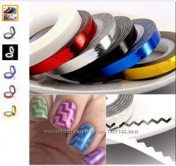 Ленты для украшения ногтей