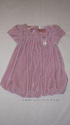 Платье  F&F нарядное 9-12 мес.