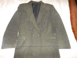 Пиджак детский 42, Milano, темно зеленый с черным