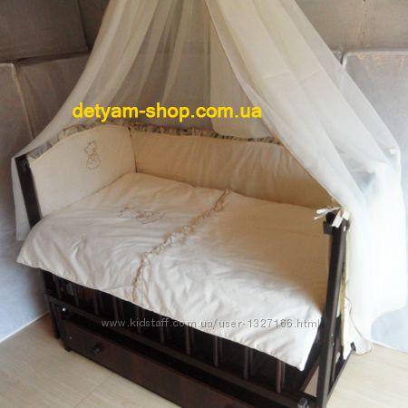 1616993fa59e Недорогой комплект в кроватку с вышивкой - Балу, 900 грн. Детское постельное  белье - Kidstaff | №18207357