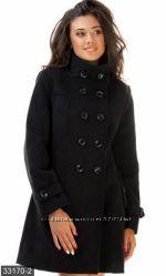 Пальто, кашемир на подкладе, разные цвета