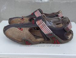 Кожаные босоножки сандалии Geox 37 р.