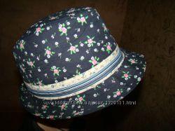 Шляпа от солнца для девочки обхват 54 см