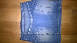 Джинсовая юбка Gloria Jeans на девочку 9-10 лет.