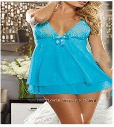 Сексуальное женское белье, рубашка  стринги