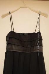 Коктейльное черное платье ZARA