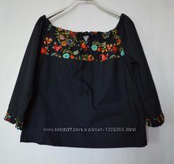 Блуза в этническом стиле Etam