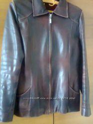 куртка-пиджак  кожа р. 42-44S