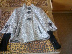 Пальто коротенькое теплое р. 44-46