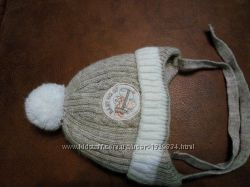 детская зимняя шапка бу