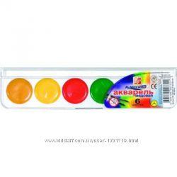 Краски акварельные медовые Луч 6, 12, 16, 18, 24 цв. Супер низкая цена