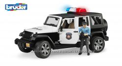 Брудер джип полицейский Wrangler Unlimited Rubicon Bruder 02526