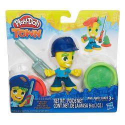 Плей-Дох игровой набор пластилина Город полицейский Play-Doh B5979, B5960