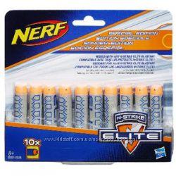 Акция Hasbro NERF Элит 10 деко-стрел, пуль, патронов Нерф Хасбро B5571