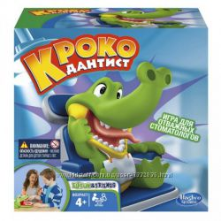 Hasbro Игра Крокодильчик Дантист Хасбро B0408