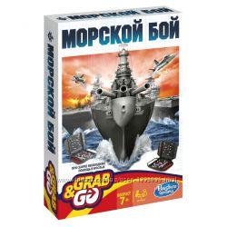 Hasbro Игра Морской бой дорожная версия Хасбро B0995