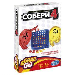 Hasbro Дорожная игра Собери 4 Хасбро B1000
