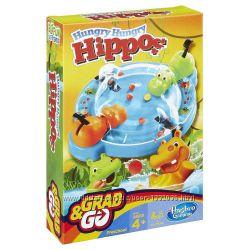 Hasbro Дорожная игра Голодные бегемотики Хасбро B1001