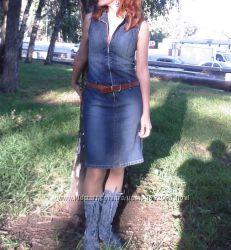 Платье джинсовое летнее TOM TAILOR