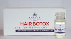 Ампула Kallos Pro-tox от выпадения и для роста волос