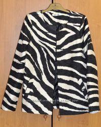 Стильный пиджак без застежек ivivi l отменного качества