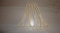 Ножницы щипцы кухонные деревянные