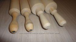 Деревянная скалка с вращающимися ручками. Скалка с вращающимся валом