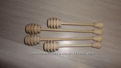 Палочка для меда деревянная маленькая
