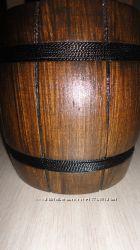 Бочонок деревянный темный или светлый ручная работа
