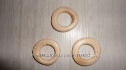 Кольцо деревянное из можжевельника